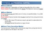physical and financial capital