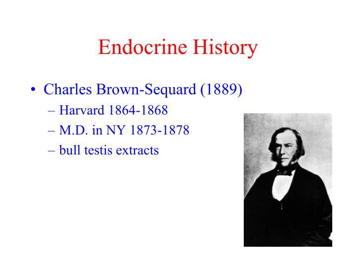 Endocrine History