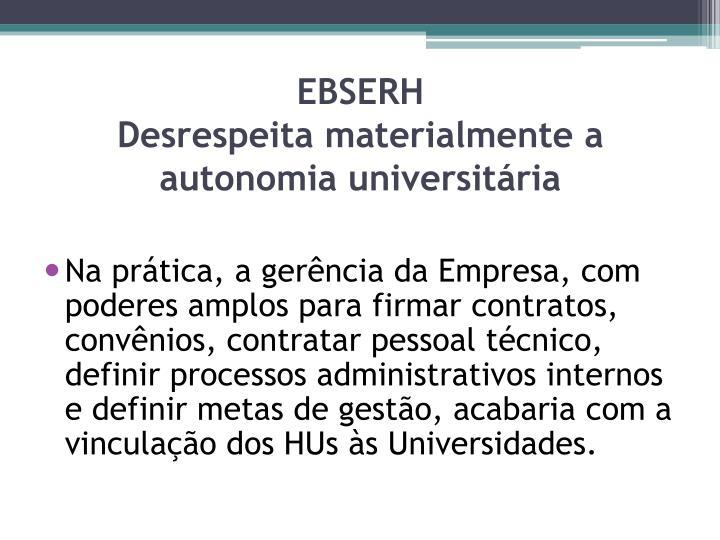 EBSERH