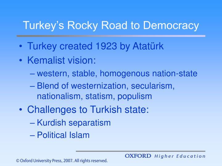 Turkey's Rocky Road to Democracy