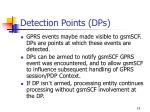 detection points dps