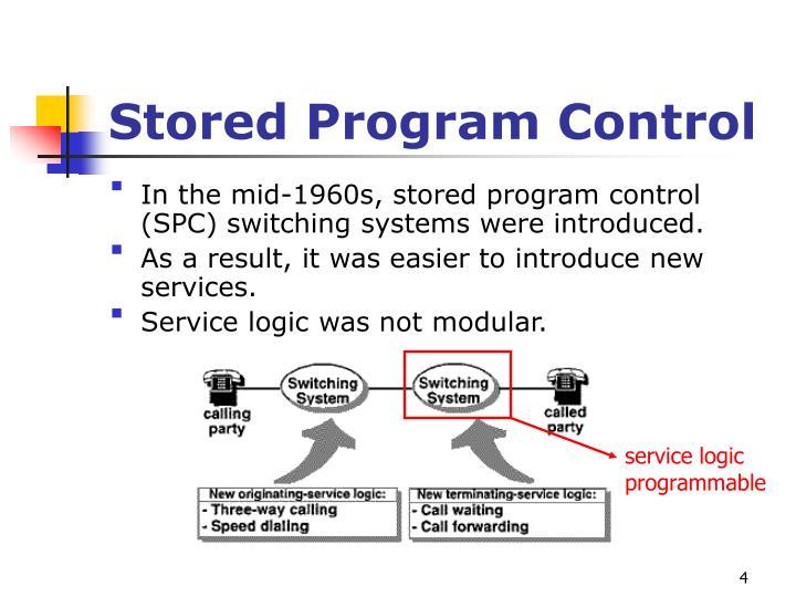 Stored Program Control