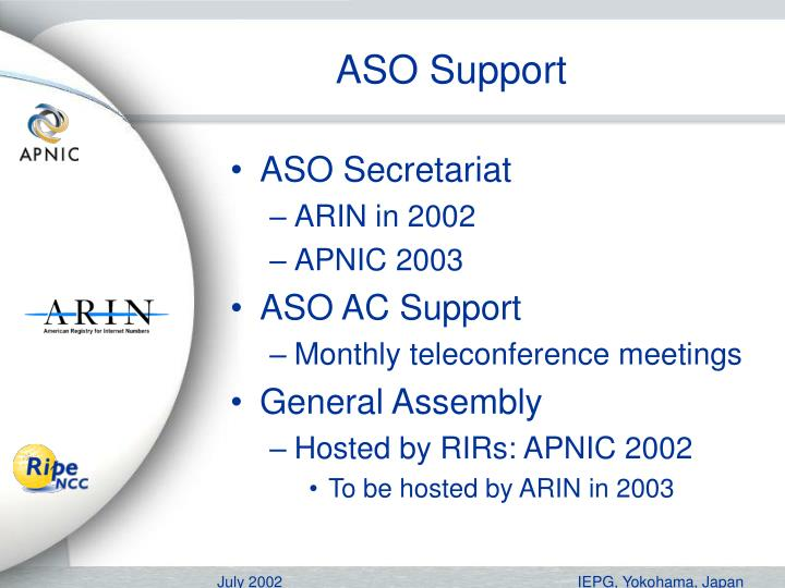 ASO Support