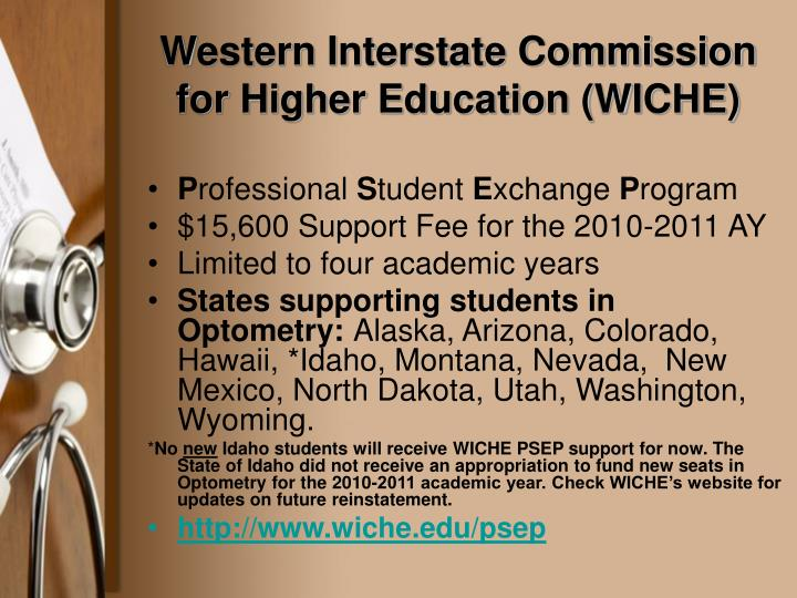 Western Interstate Commission