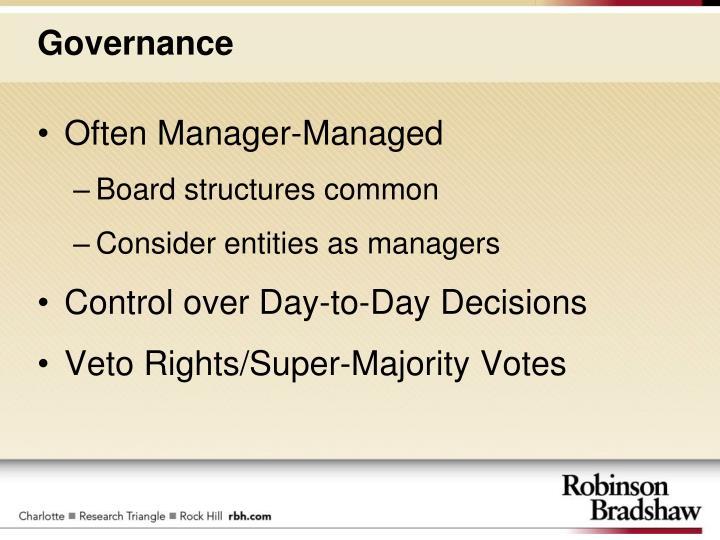 Often Manager-Managed