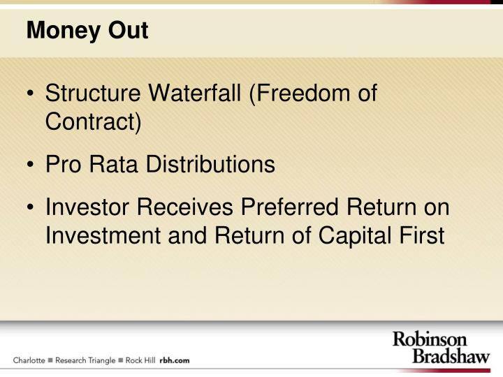 Structure Waterfall (Freedom of Contract)