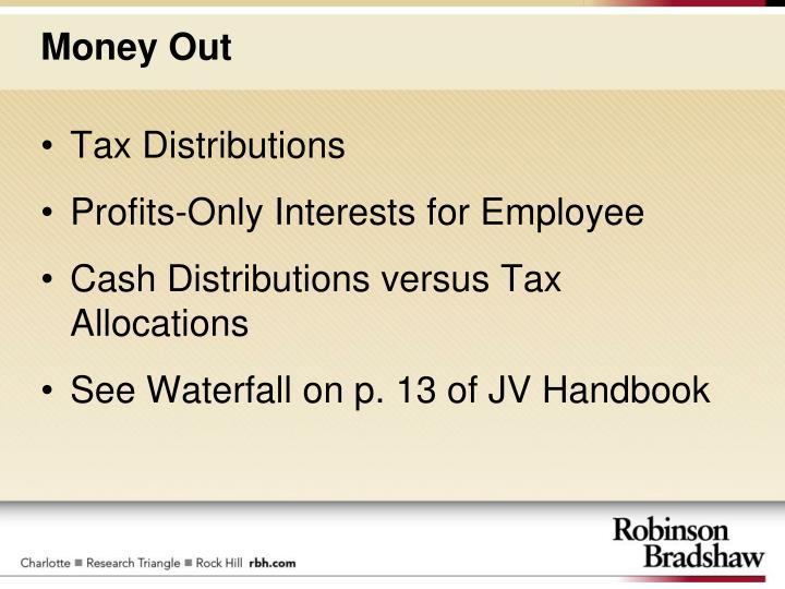 Tax Distributions