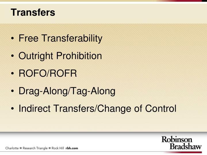 Free Transferability