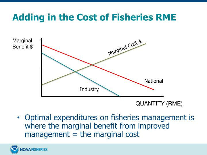 Adding in the Cost of Fisheries RME