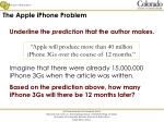 the apple iphone problem1