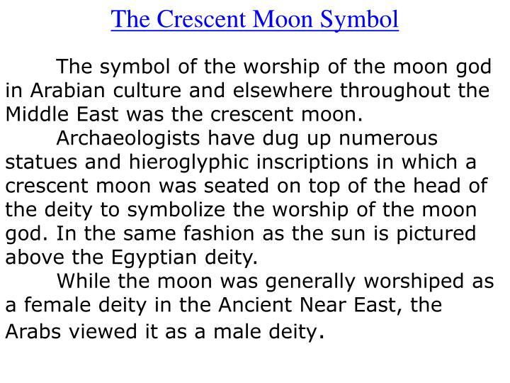 The Crescent Moon Symbol