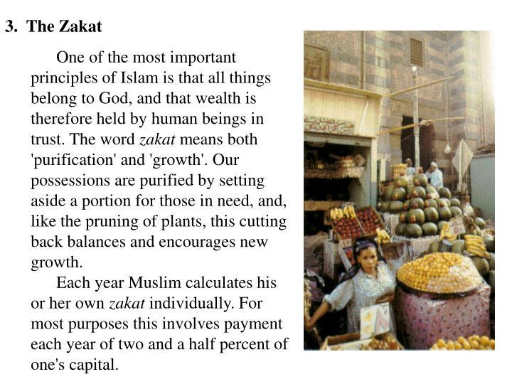 3.  The Zakat