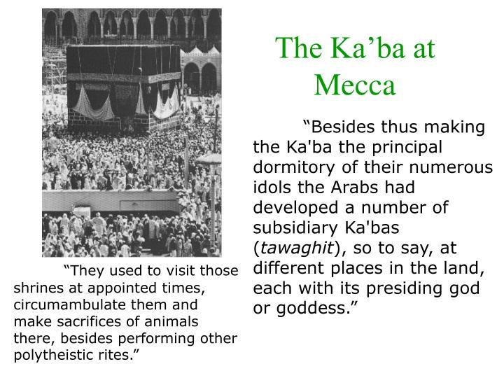 The Ka'ba at Mecca