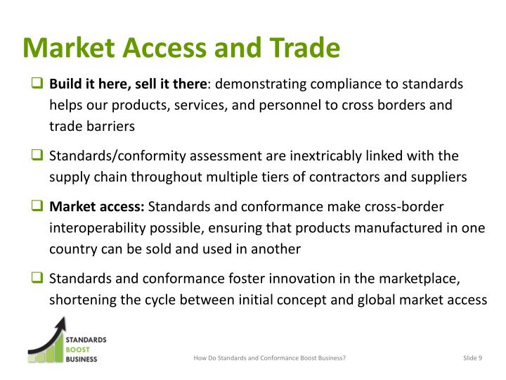 Market Access and Trade