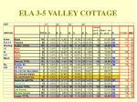 ela 3 5 valley cottage