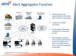 alert aggregator function