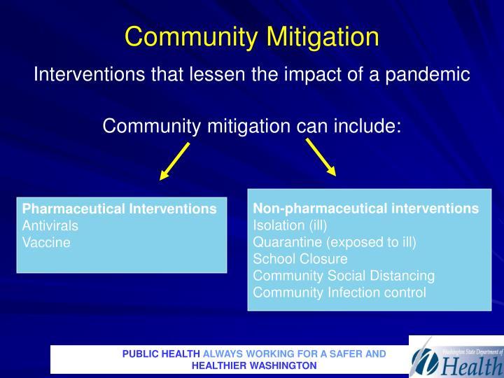 Community Mitigation