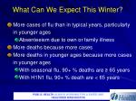 what can we expect this winter