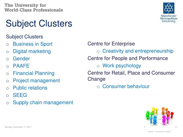 Subject Clusters