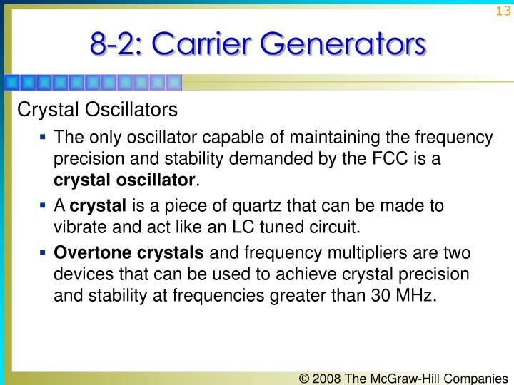 8-2: Carrier Generators