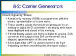 8 2 carrier generators11