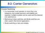 8 2 carrier generators5