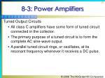 8 3 power amplifiers10