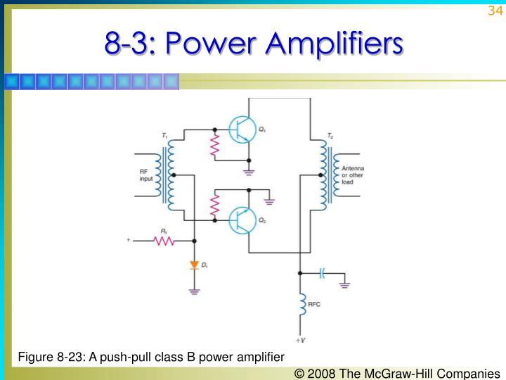 8-3: Power Amplifiers