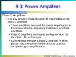 8 3 power amplifiers9