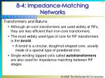 8 4 impedance matching networks10