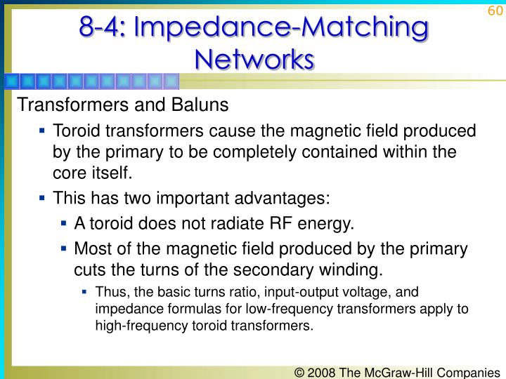 8-4: Impedance-Matching Networks