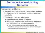 8 4 impedance matching networks11