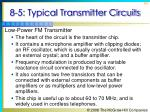 8 5 typical transmitter circuits2