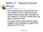 station 5 special interest groups