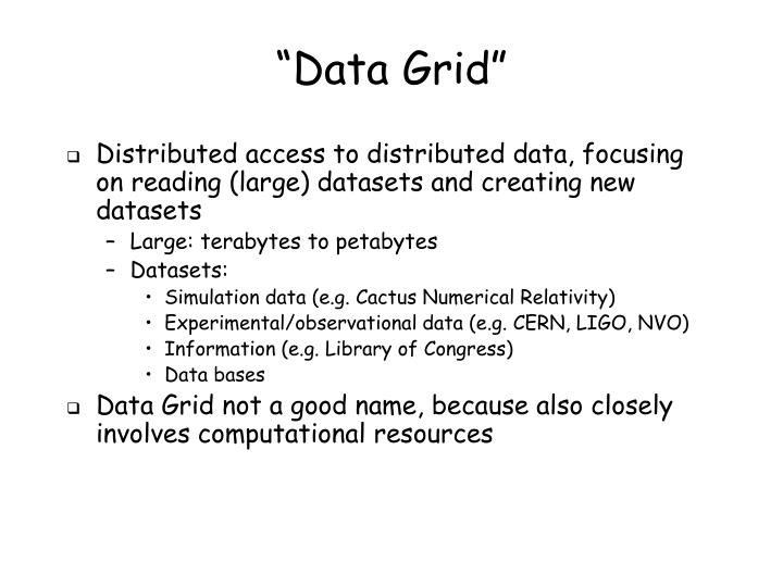 """Data Grid"""