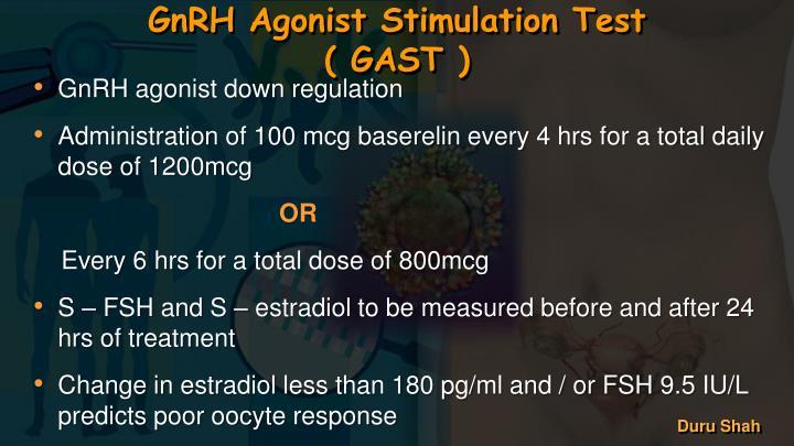 GnRH Agonist Stimulation Test