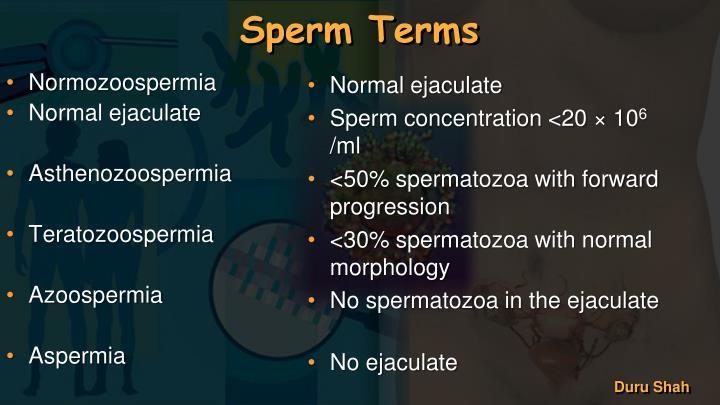 Normozoospermia