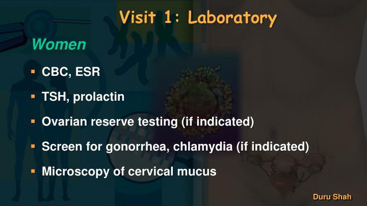 Visit 1: Laboratory