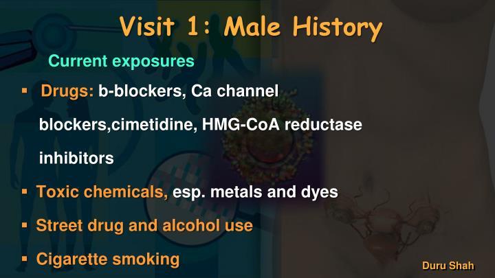 Visit 1: Male History