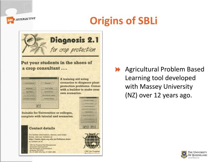 Origins of SBLi