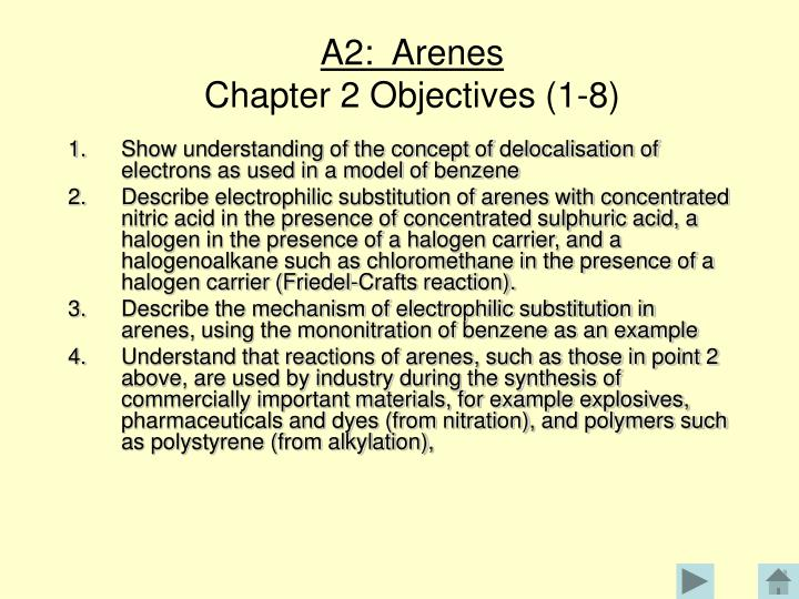 A2:  Arenes
