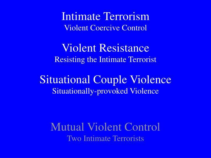 Intimate Terrorism