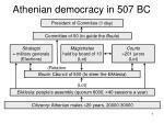athenian democracy in 507 bc