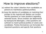 how to improve elections