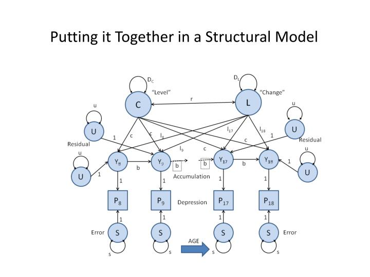 Putting it Together in a Structural Model