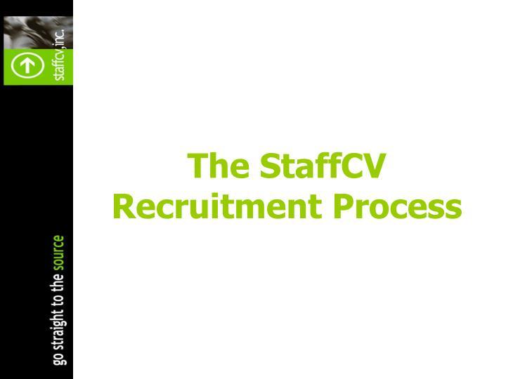 The StaffCV Recruitment Process