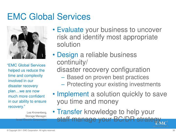 EMC Global Services