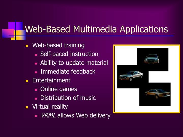 Web-Based Multimedia Applications