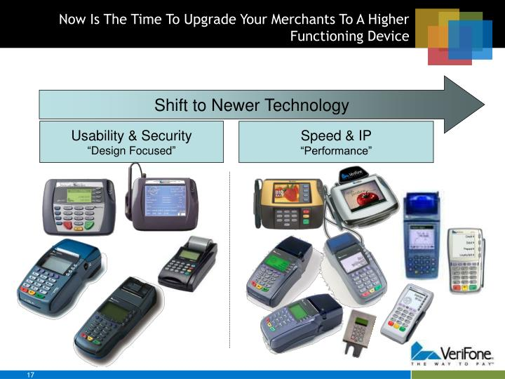Now Is The Time To Upgrade Your Merchants To A Higher Functioning Device