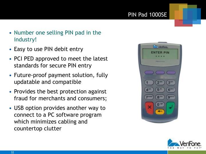 PIN Pad 1000SE
